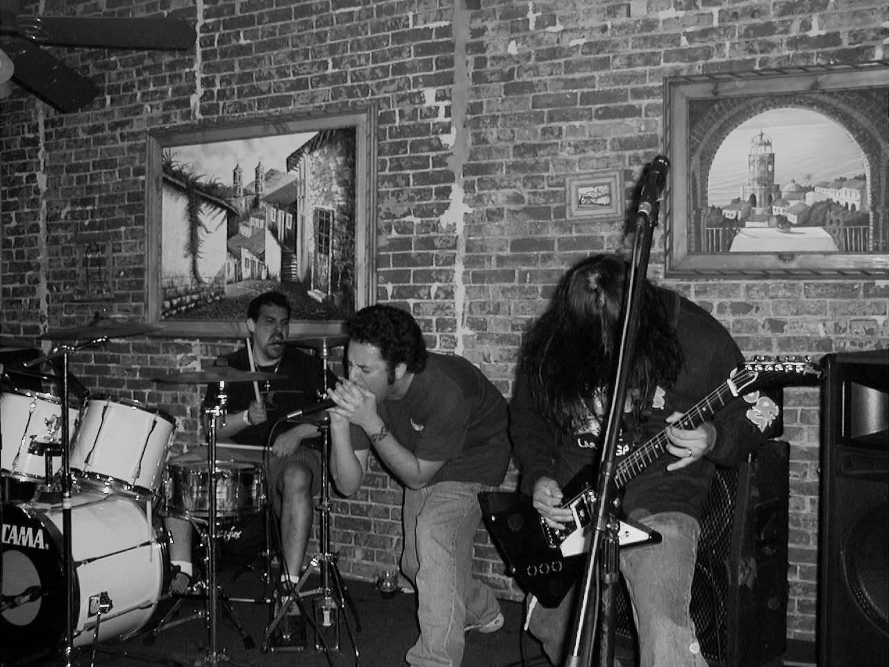 Ciego Kaos performing Live at Taco Nazo in Pomona, CA